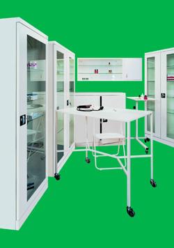 Примеры медицинской мебели: